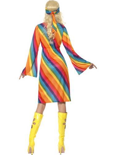 Rainbow Hippie Costume Thumbnail 2
