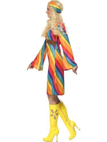 Rainbow Hippie Costume Thumbnail 3