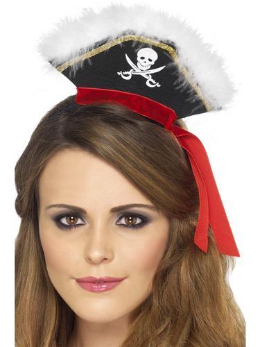 Mock Pirate Hat on Headband Thumbnail 1