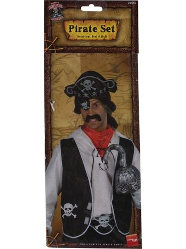 Pirate Set with Waistcoat Thumbnail 3