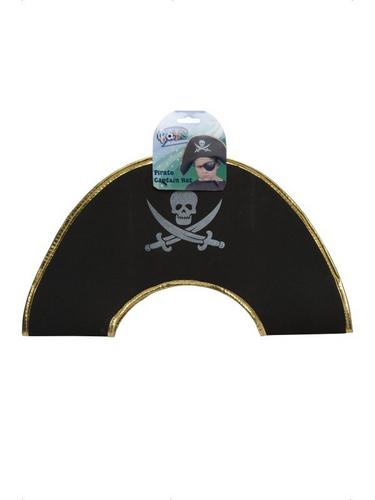 Childs Pirate Captain Fancy Dress Hat EVA Thumbnail 2