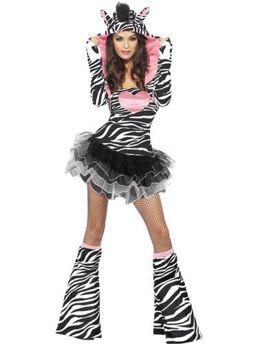 Fever Zebra Costume Thumbnail 2
