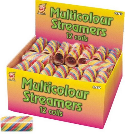 Multicolour Streamers Thumbnail 1