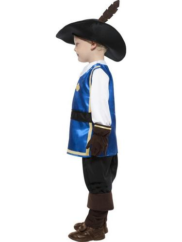 Musketeer Child Fancy Dress Costume Thumbnail 3