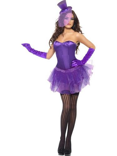 Burlesque Beauty Fancy Dress Costume Thumbnail 2