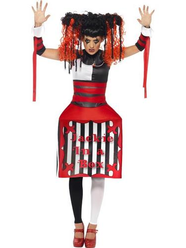 Jackie in a Box Fancy Dress Costume Thumbnail 1