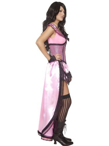 Western Authentic Brothel Babe Fancy Dress Costume Thumbnail 3