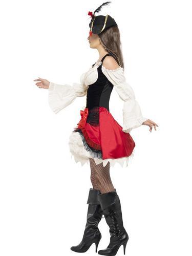 Glamorous Lady Pirate Costume Thumbnail 2