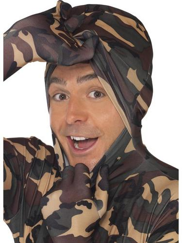 Second Skin Suit Camouflage Fancy Dress Costume Thumbnail 2