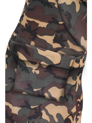 Second Skin Suit Camouflage Fancy Dress Costume Thumbnail 3
