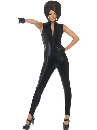 Posh Power, 1990s Icon Fancy Dress Costume Black Thumbnail 1