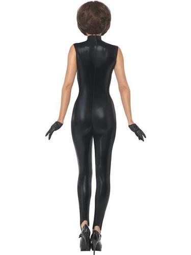 Posh Power, 1990s Icon Fancy Dress Costume Black Thumbnail 2