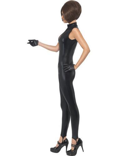Posh Power, 1990s Icon Fancy Dress Costume Black Thumbnail 3