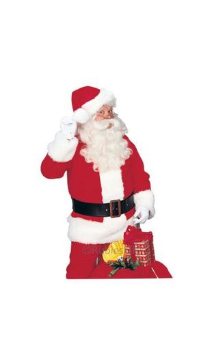 Premier Santa Suit Fancy Dress Costume Thumbnail 1