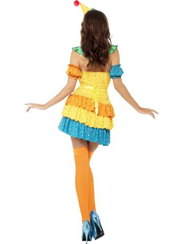 Fever Colourful Clown Cutie Costume Thumbnail 3