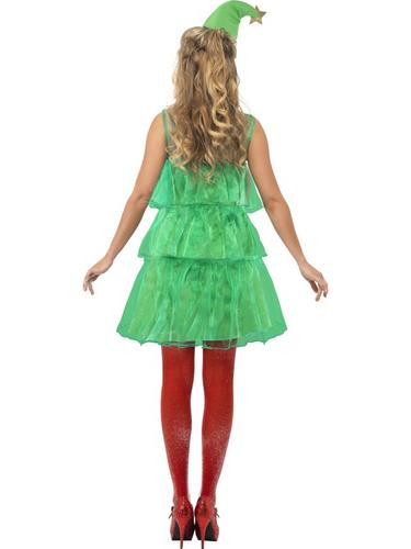 Christmas Tree Tutu Fancy Dress Costume Thumbnail 2