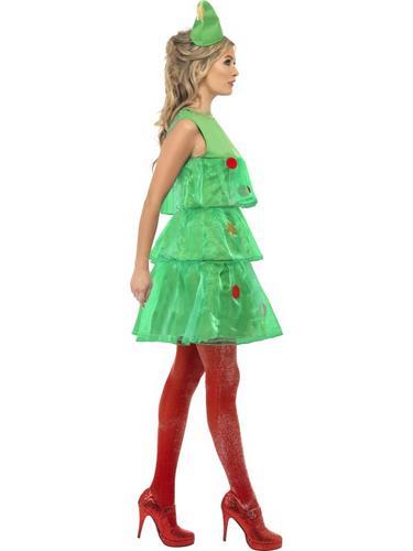 Christmas Tree Tutu Fancy Dress Costume Thumbnail 3