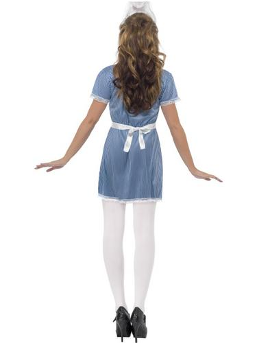 Sexy Nurse Fancy Dress Costume Thumbnail 3