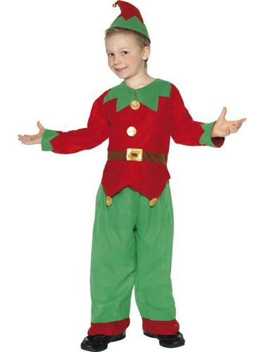 Childs Elf Fancy Dress Costume Thumbnail 1