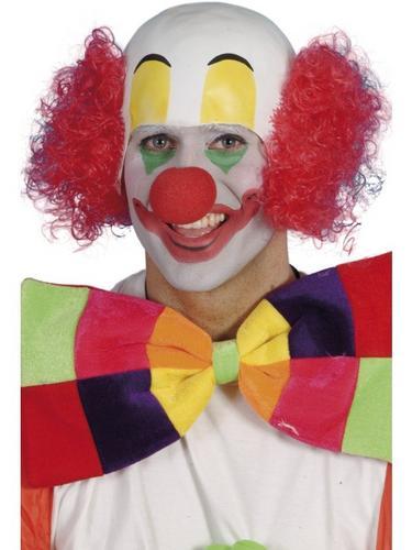 Clown Fancy Dress Wig Thumbnail 1