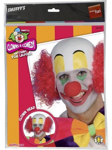 Clown Fancy Dress Wig Thumbnail 2