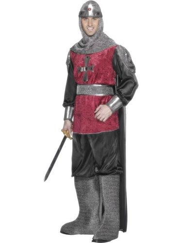 Medieval Knight Fancy Dress Costume Thumbnail 1