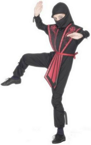 Boys Ninja Fancy Dress Costume Thumbnail 1