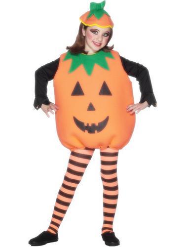 Childs Pumpkin Fancy Dress Costume Thumbnail 1