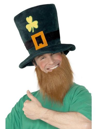 Leprechaun Fancy Dress Hat and Beard Thumbnail 2