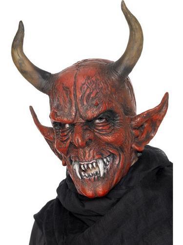 Demon Devil Fancy Dress Mask Thumbnail 1