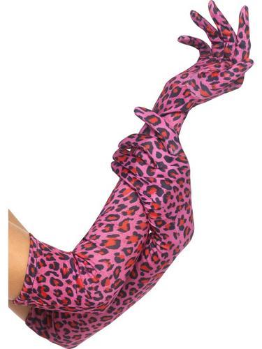 Gloves, Leopard Print Thumbnail 1