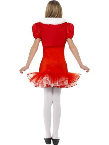 Little Miss Santa Tutu Fancy Dress Costume Thumbnail 2