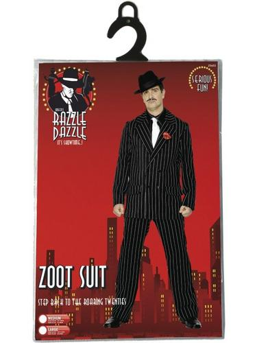 Zoot Suit Fancy Dress Costume Thumbnail 3