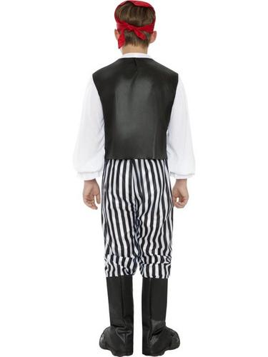 Boys Pirate Fancy Dress Costume Thumbnail 4