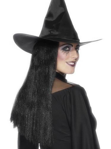 Witch Fancy Dress Wig 24Inch Thumbnail 1