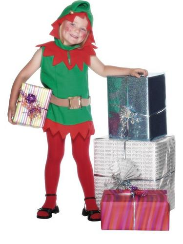 Elf Fancy Dress Costume TunicTunic Thumbnail 2