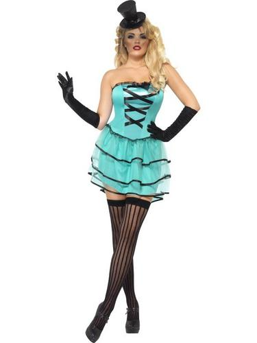 Burlesque Roxi Delite Fancy Dress Costume Thumbnail 2