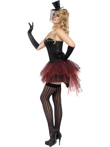 Burlesque Bustle Tutu Red Thumbnail 3