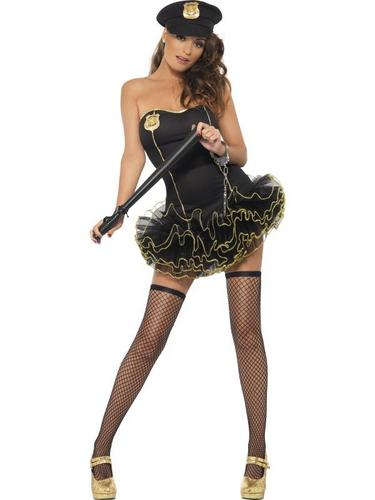 Tutu Police Fancy Dress Costume Thumbnail 1
