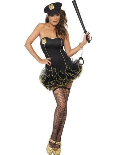 Tutu Police Fancy Dress Costume Thumbnail 2