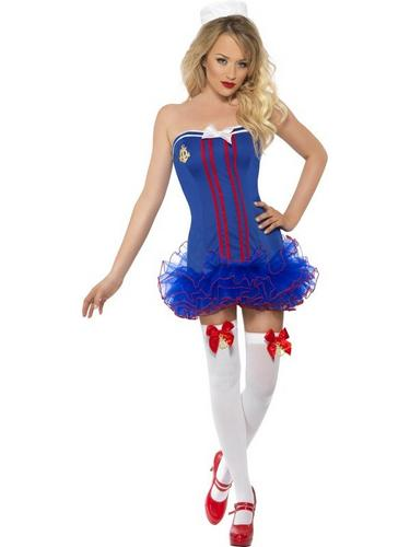 Tutu Sailor Fancy Dress Costume Thumbnail 2