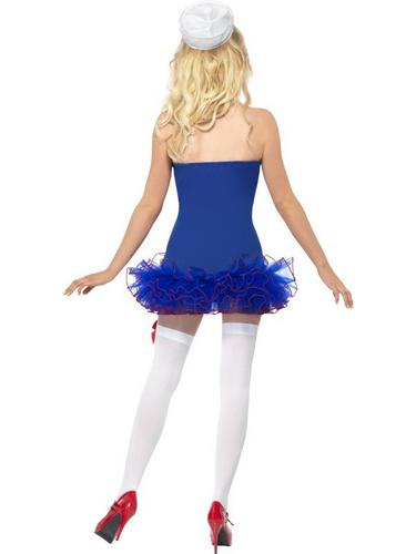 Tutu Sailor Fancy Dress Costume Thumbnail 3