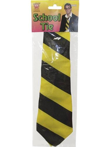 School Tie Yellow and Black Thumbnail 2
