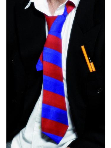 School Tie Red and Blue Thumbnail 1