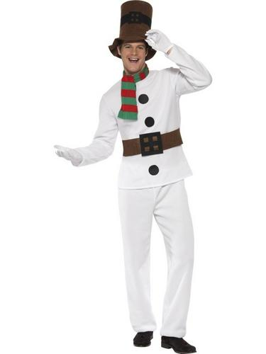 Mr Snowman Fancy Dress Costume Thumbnail 1