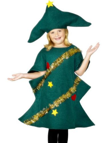 Christmas Tree Fancy Dress Costume Thumbnail 2