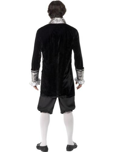 Male Baroque Vampire Fancy Dress Costume Thumbnail 2
