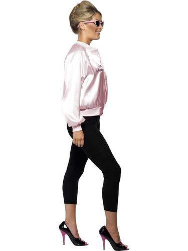 Pink Lady Jacket Fancy Dress Costume For Grease Thumbnail 3