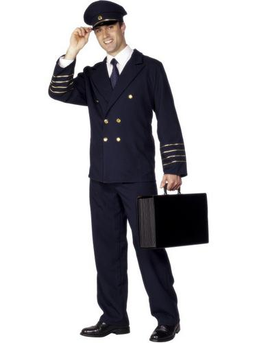 Pilot Fancy Dress Costume Thumbnail 1