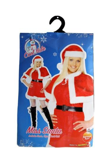 Miss Santa Fancy Dress Costume Thumbnail 3